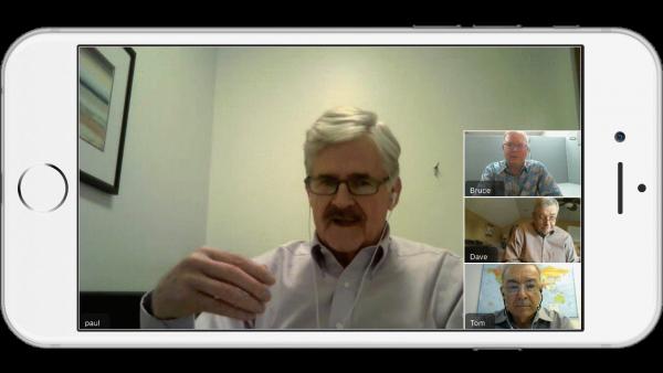 Video Collaboration App Multiuser Meetings